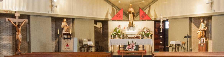 Altar de la parroquia de San Fermin